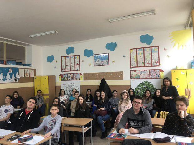 Студенти Филолошког факултета у нашој школи