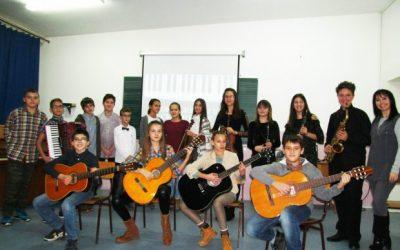 Новогодишњи концерт ученика наше школе