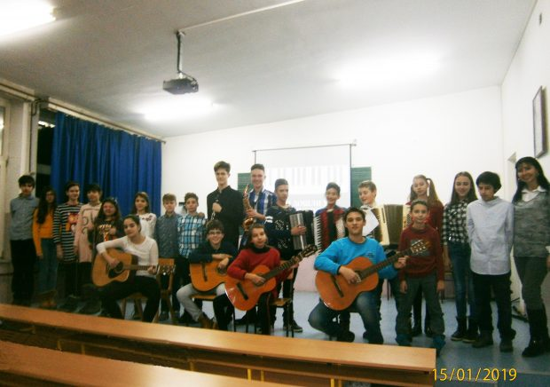Концерт ученика наше школе